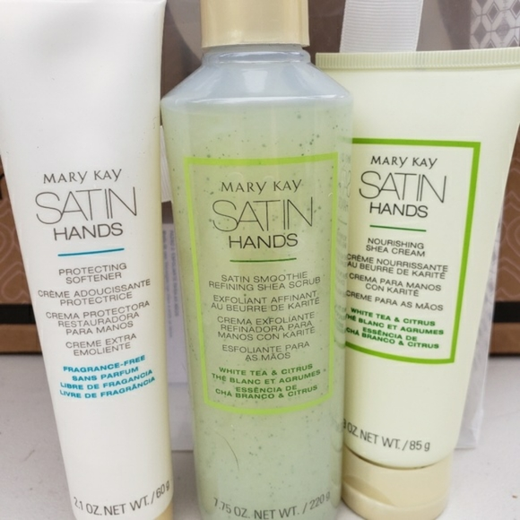 Mary Kay Other - White tea and and citrus satin hands Pampering set